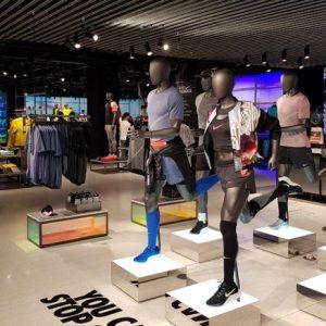 Nike Bangkok at Siam Center ใหญ่ที่สุดในไทย